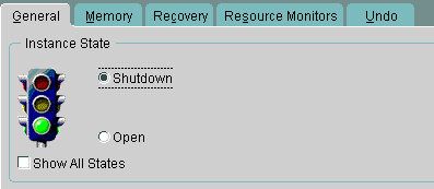 recovery oracle shutdown dul for windows